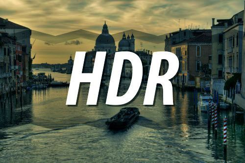 High Dynamic Range Imaging (HDRI или HDR)