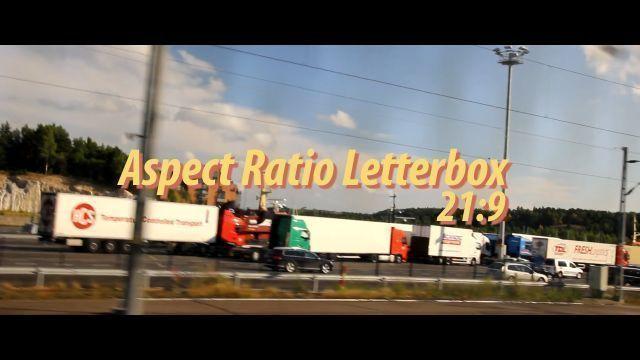 Aspect Ratio Letterbox 21:9