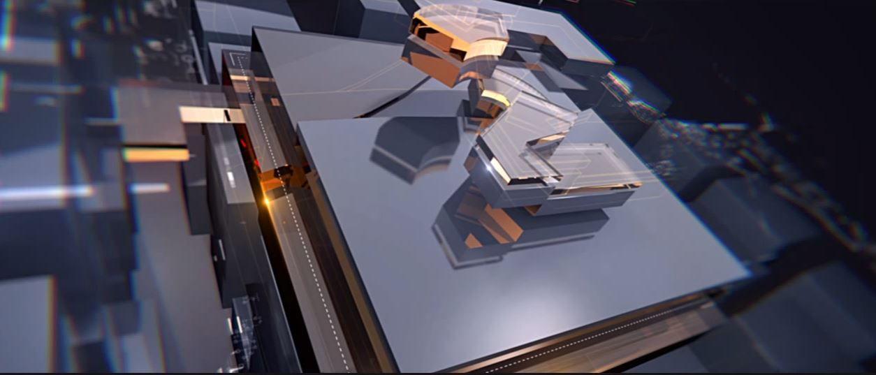 Создание и композитинг стекла в C4D