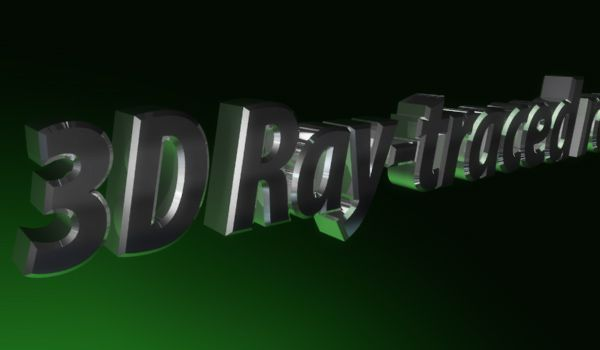 3D Ray-traced render в АЕ