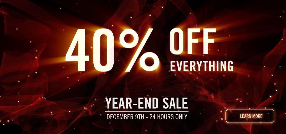 Распродажа на Red Giant 40% на всё.