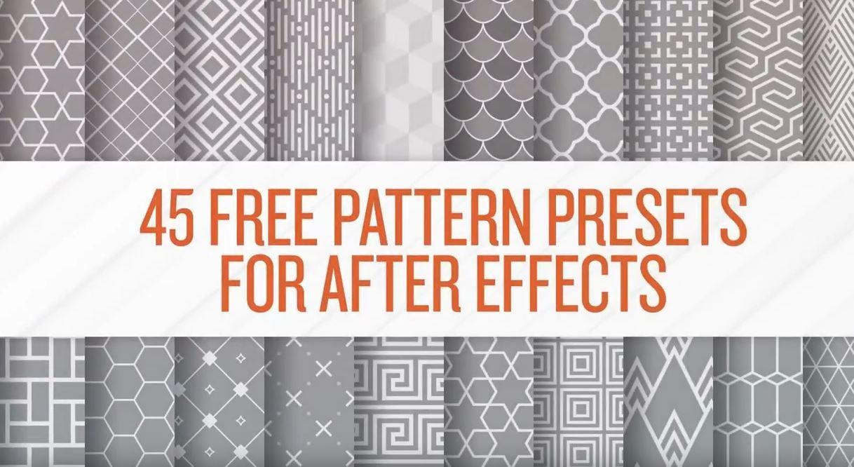 45 Pattern Free
