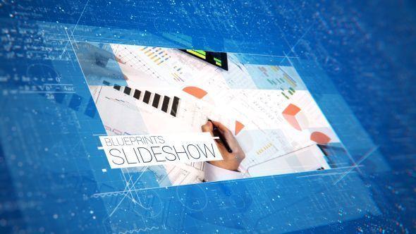 Blueprints Schematic Slideshow