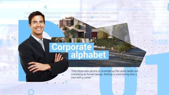 Corporate Alphabet Slideshow