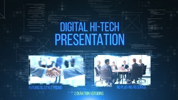 Digital Hi-Tech Presentation