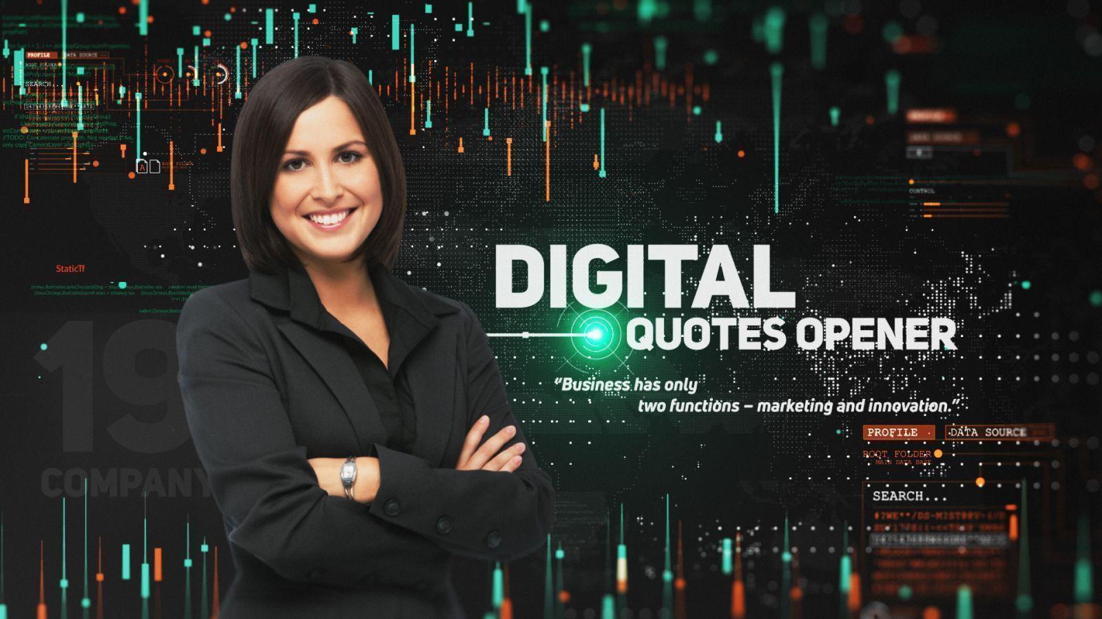 Digital Quotes Opener