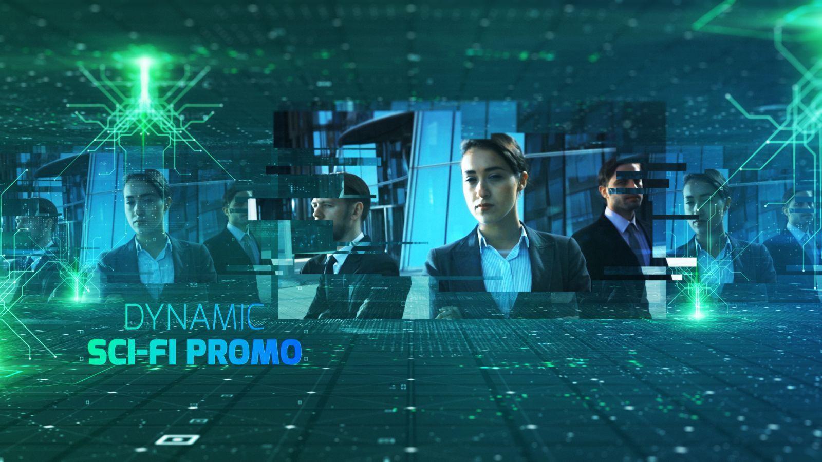 Dynamic Sci-fi Promo