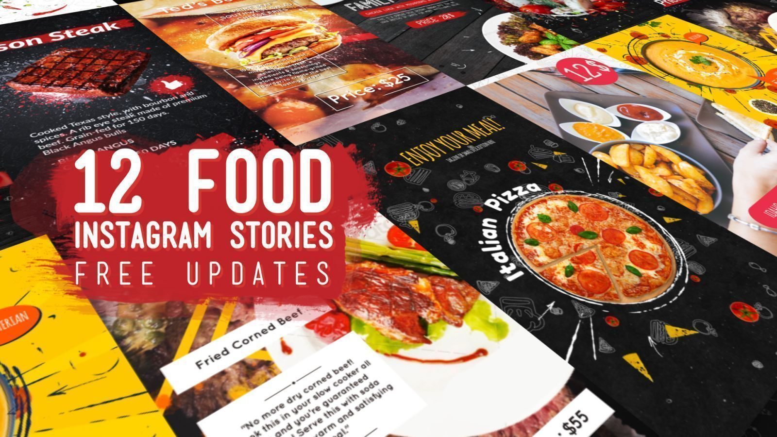 Food Instagram Stories Pack