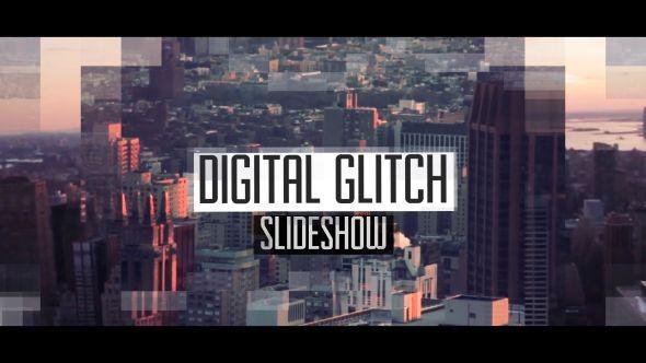 Glitch Data Slideshow