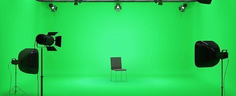 Съемка на зеленом экране, база от lynda