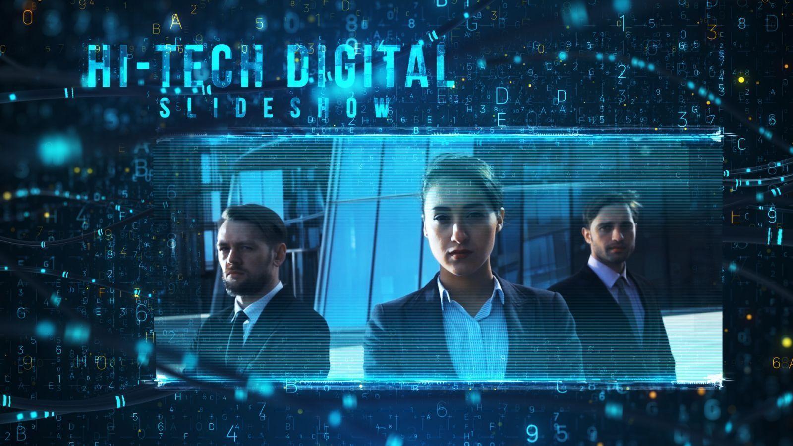 Hi-tech Digital Slideshow
