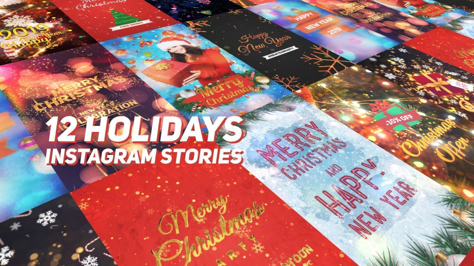 Holidays Instagram Stories Pack
