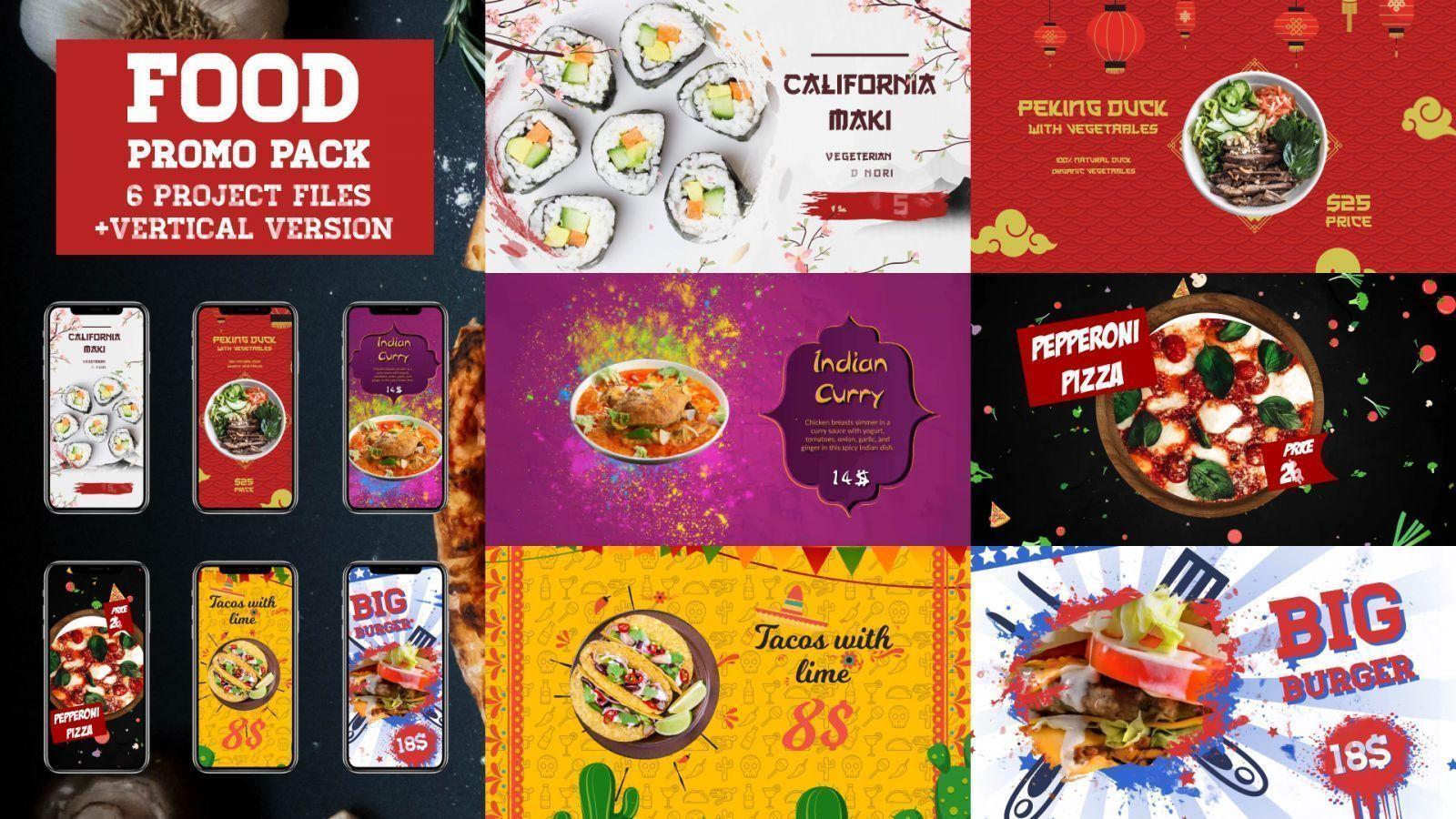 Restaurant Promo Pack
