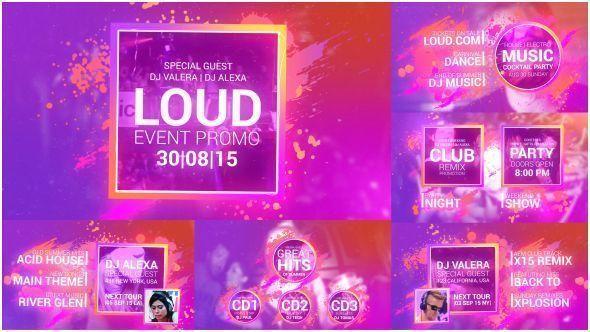 Loud Event Promo