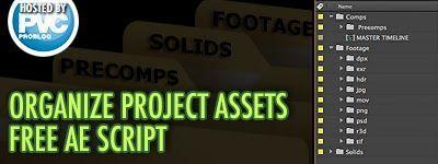 Organize Project Assets бесплатный скрипт для организации проекта