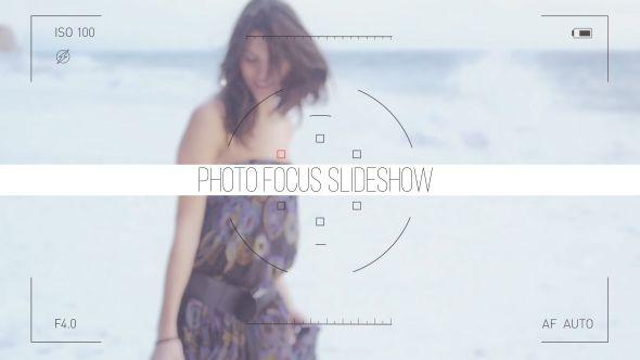 Photo Focus Frames Slideshow