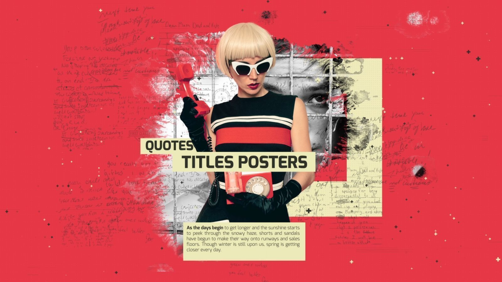 Quotes Title Posters