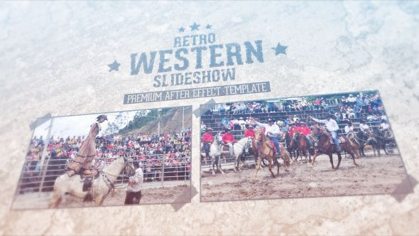 Retro Western Slideshow