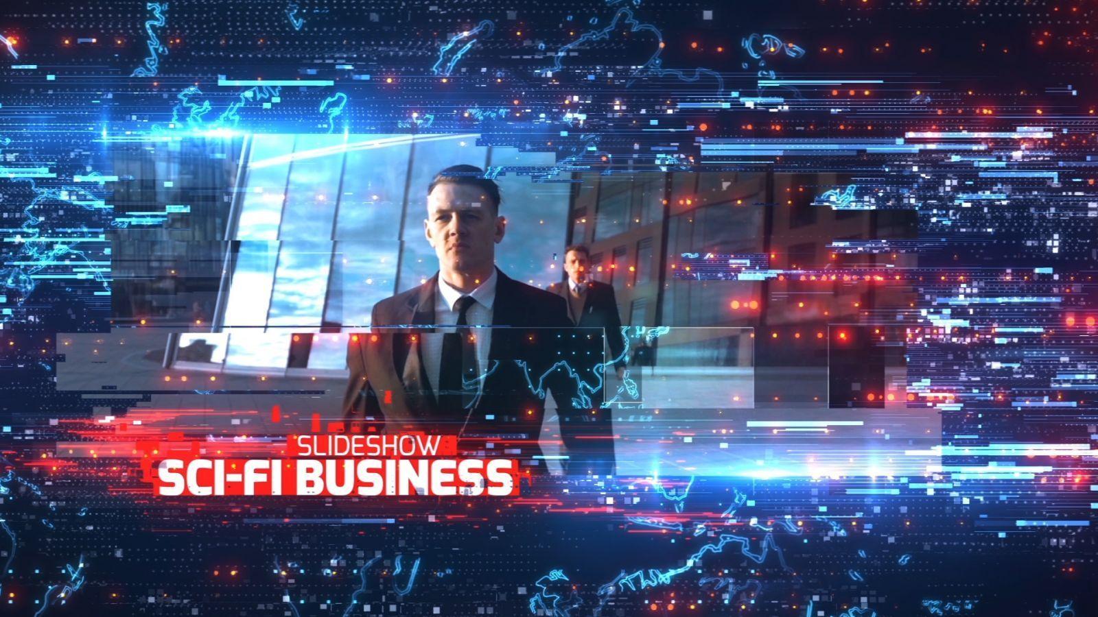 Sci-Fi Business Slideshow