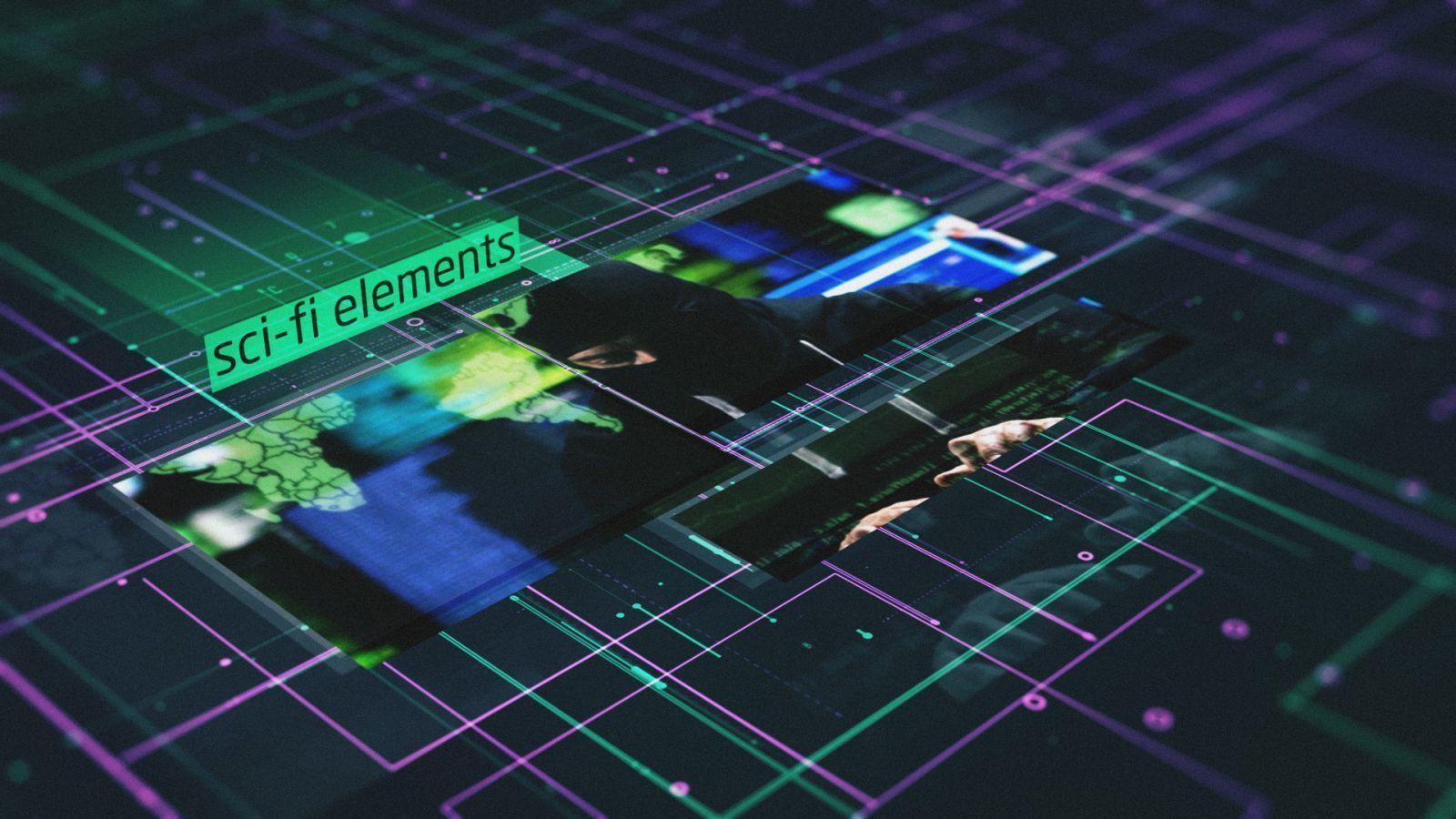 Sci-Fi Elements Slideshow