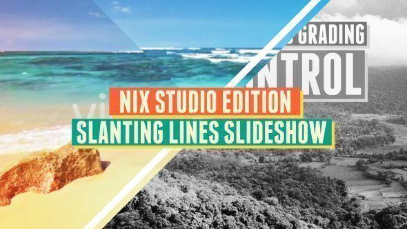 Slanting Lines Slideshow