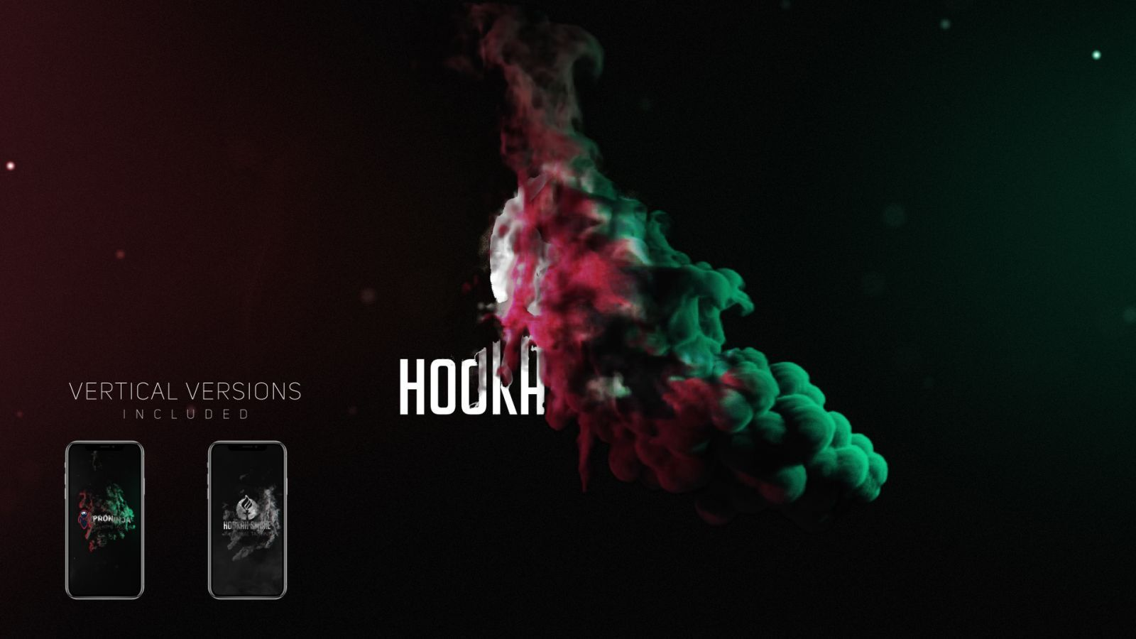 Smoke Logo Reveal Pack