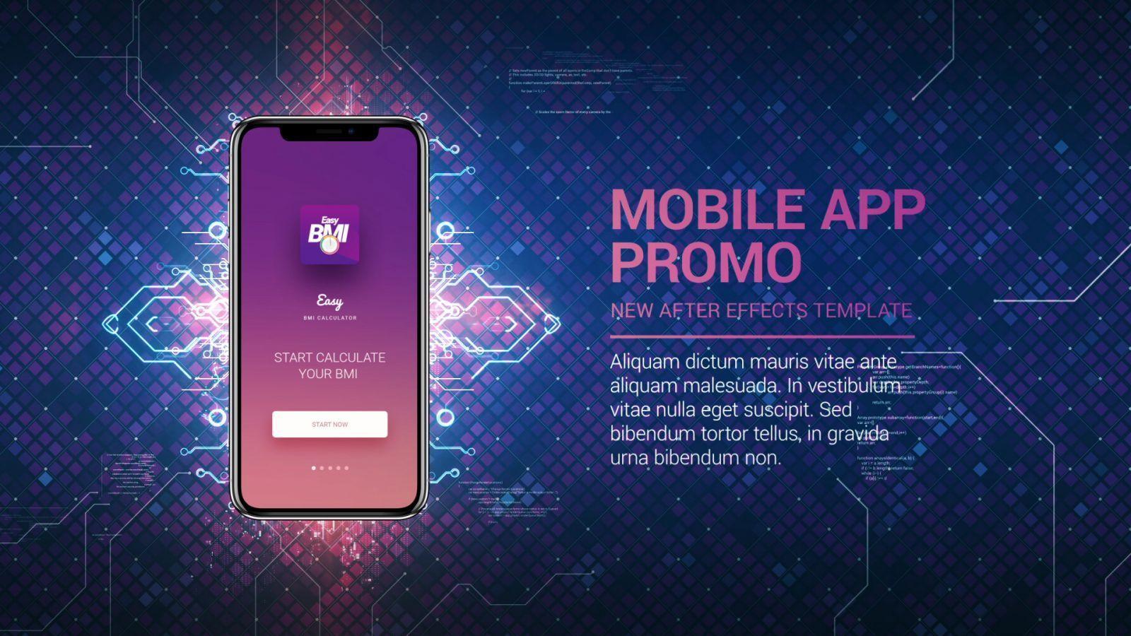 Technology App Promo