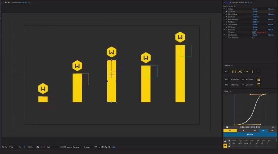Графики с выражениями в АЕ