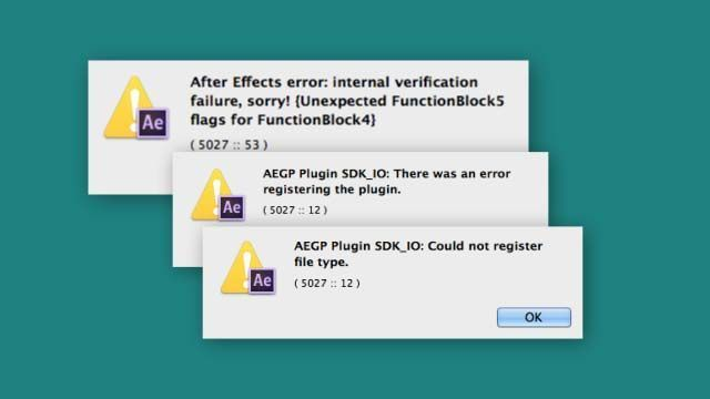 AE error при запуске: FunctionBlock5flags
