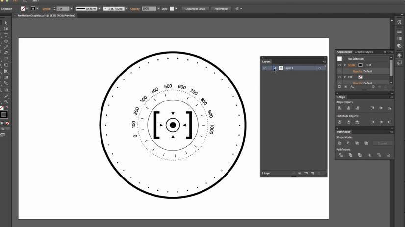 Adobe Illustrator для моушн дизайнеров
