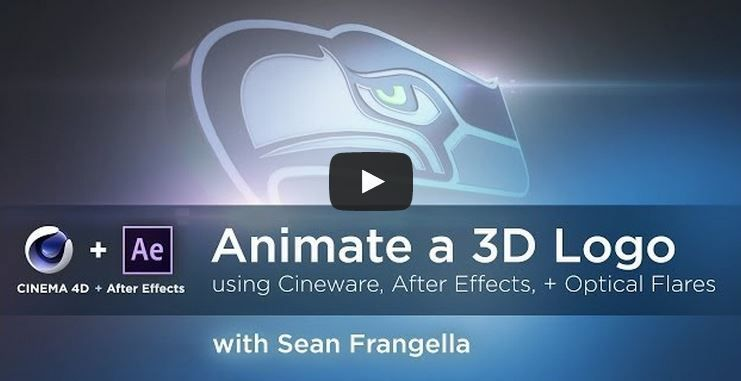 Создание и анимация 3D лого с помощью AI/C4D и After Effects