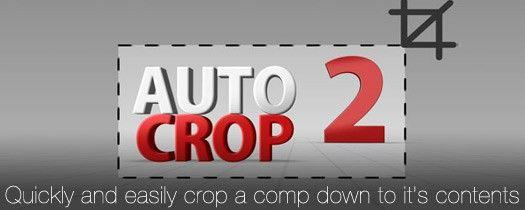 Auto Crop скрипт для AE