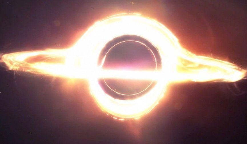 Воссоздание черной дыры из Интерстеллера.
