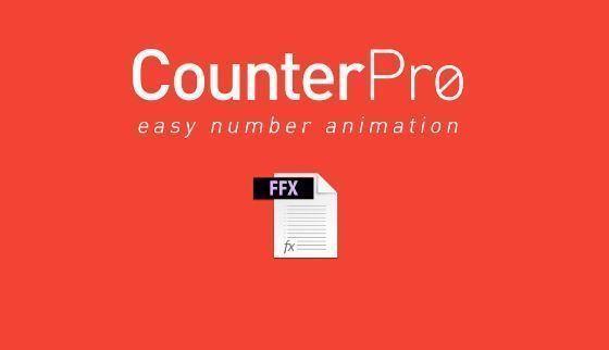 Counter Pro пресет для AE