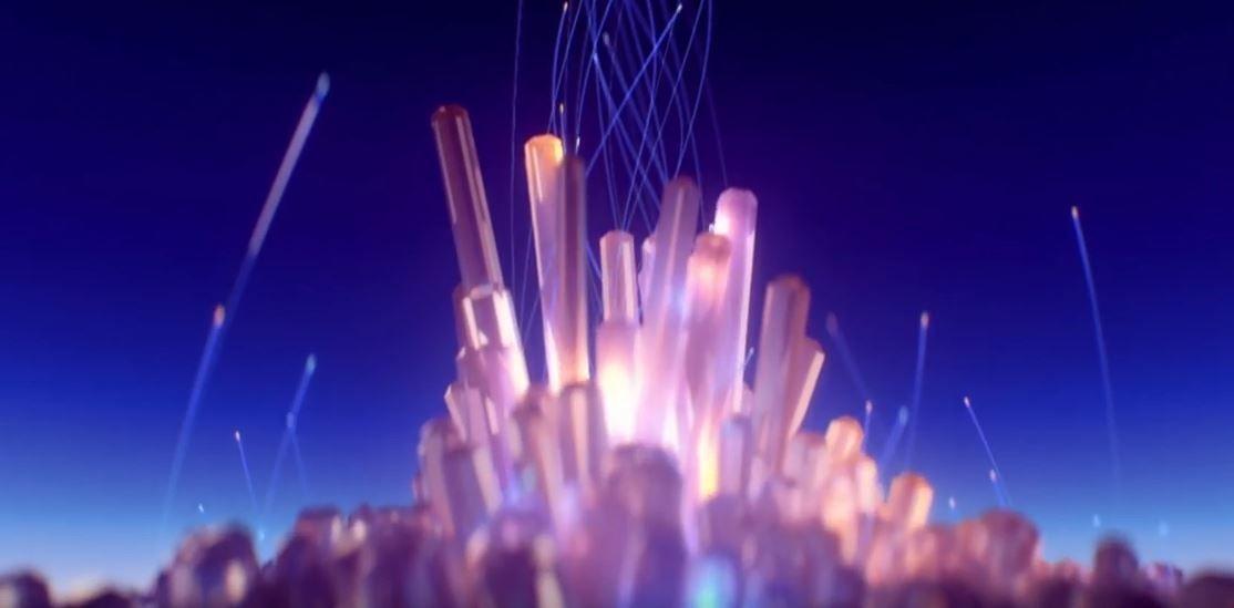 Создание сцены из кристаллов в C4D
