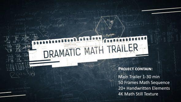 Dramatic Math Trailer