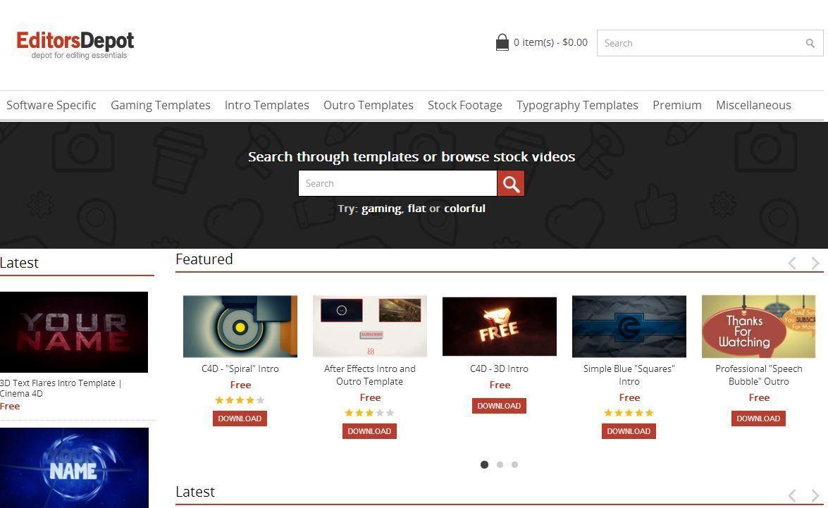 Editorsdepot.com бесплатные шаблоны