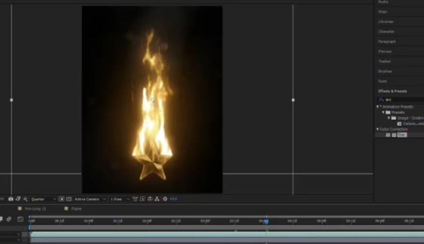 Создание более реалистичного огня в АЕ