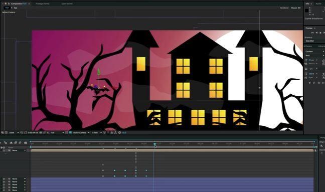 Создание хеллоуинской темы в After Effects