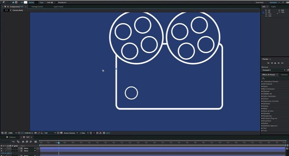 Создание и анимация иконок в After Effects