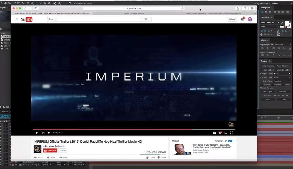 Титры в стиле Imperium