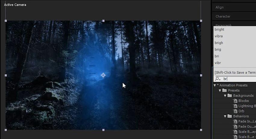 Эффект невидимки в After Effects