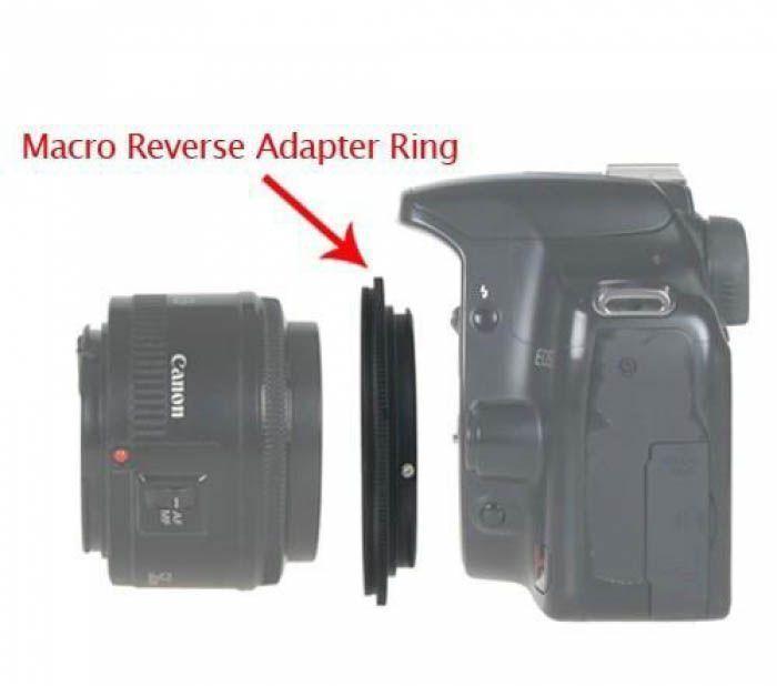 Реверсивный макро адаптер