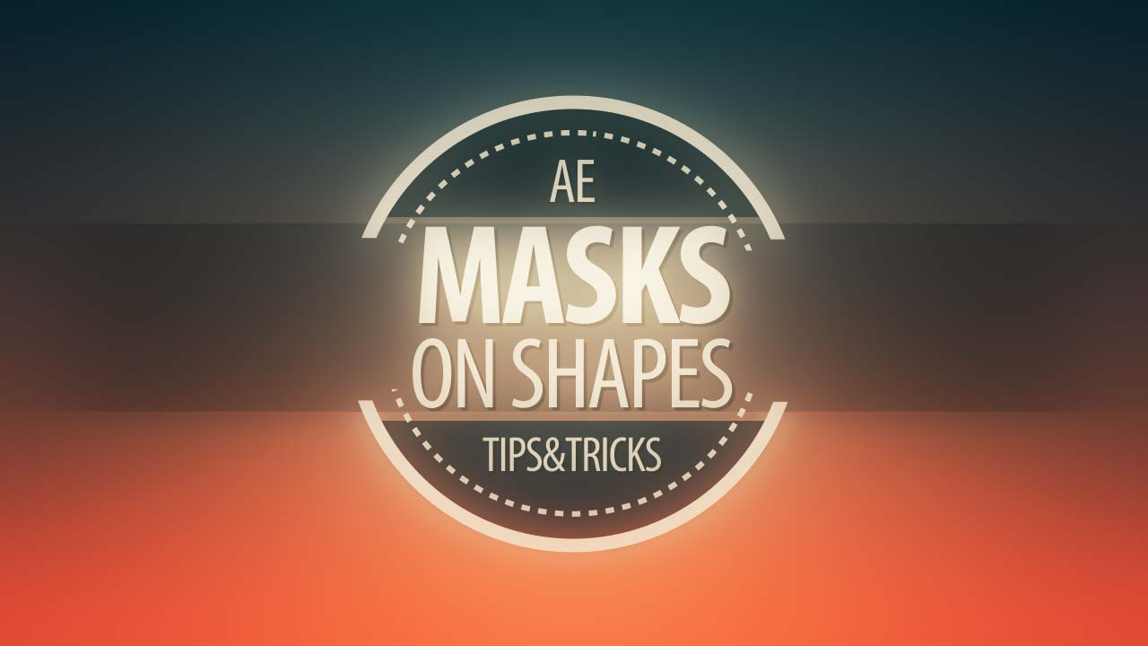 Mask on shapes