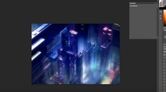 Стрим Microchip City В C4D+Photoshop