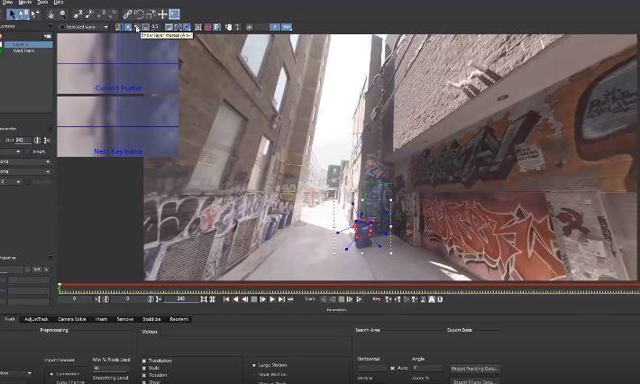 Трекинг и добавление графики в 360 с помощью Моки VR и Премьер