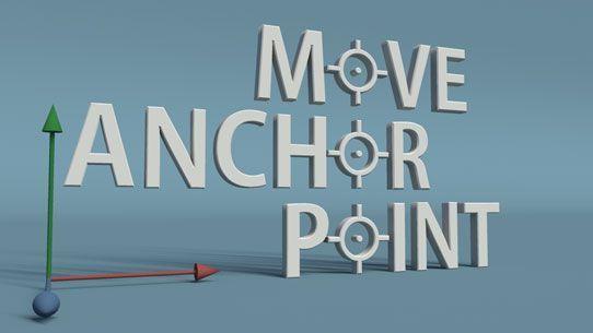 Авто сдвиг Anchor Point в АЕ (скрипты)