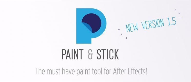 Paint & Stick скрипт для After Effects