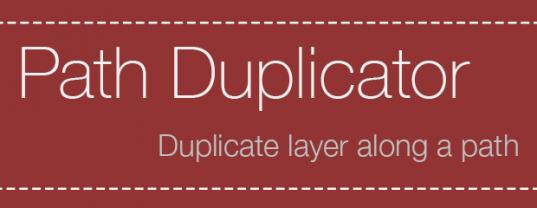 Скрипт Path Duplicator