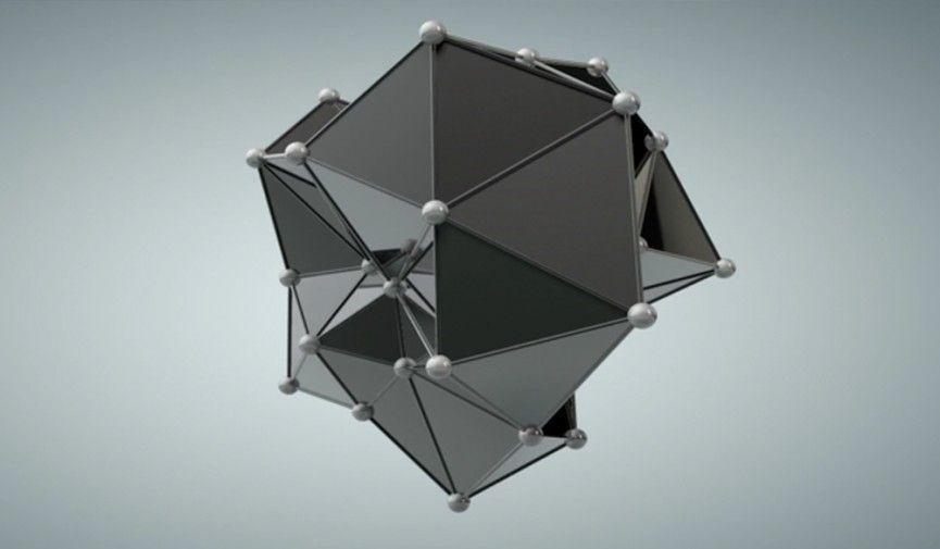 Plexus Style формы в Cinema 4D